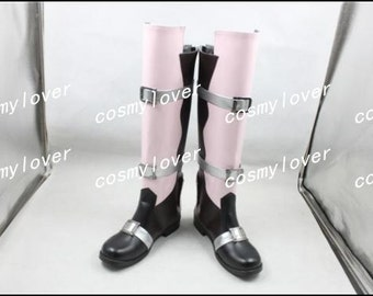 Final Fantasy XIII Lightning Eclair Farron Custom Made Cosplay Boots/Shoes
