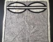 Vintage Bill Blass Silk Scarf c1960's