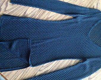 Woman's Mesh Cotton tunic SMALL