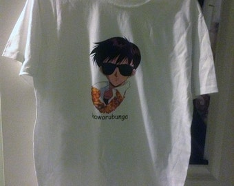 neon genesis evangelion kaworubunga t-shirt