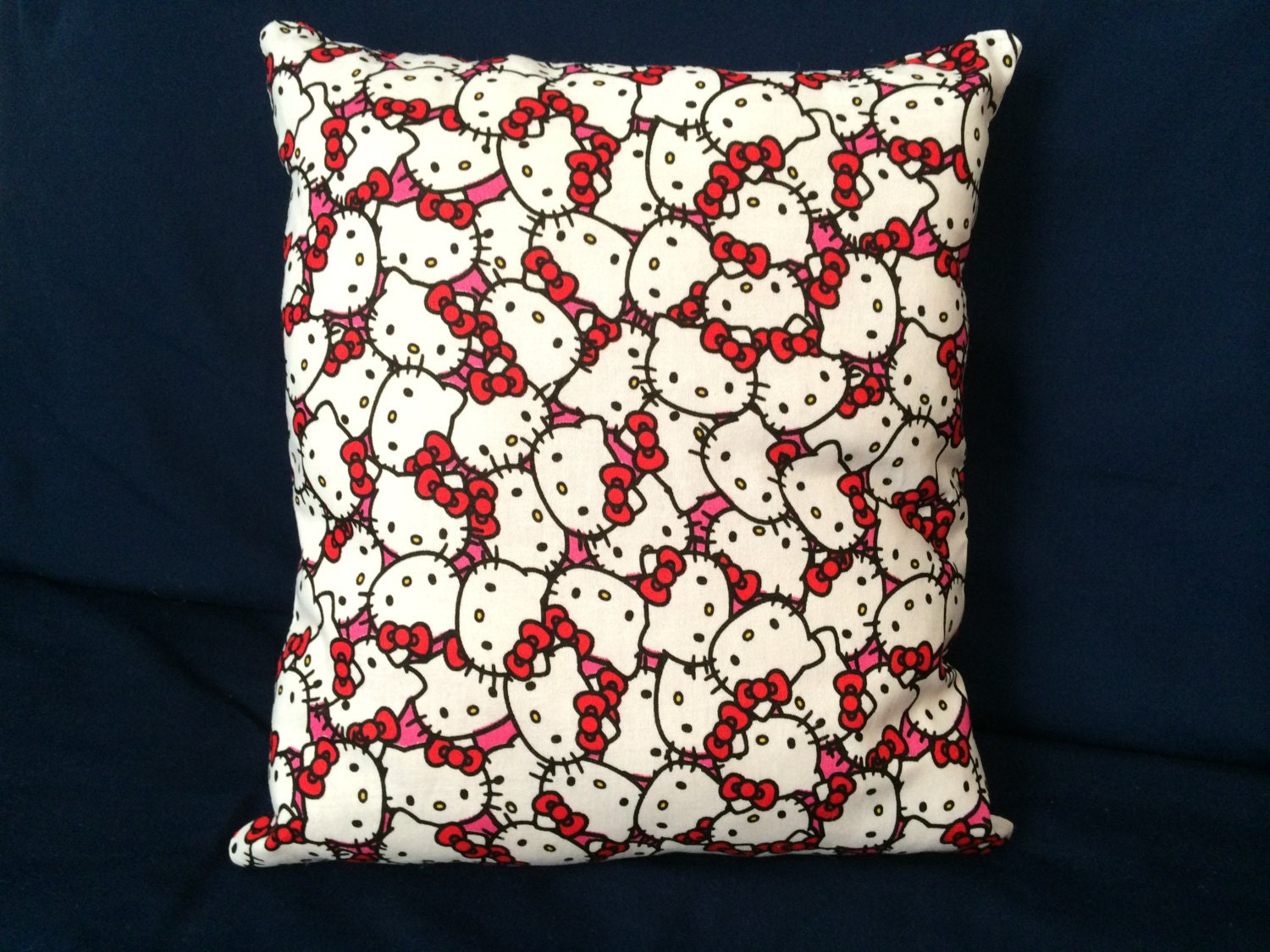 Kitty Throw Pillow : Rare HELLO KITTY adorable throw pillow by JosiesLemonadeStand