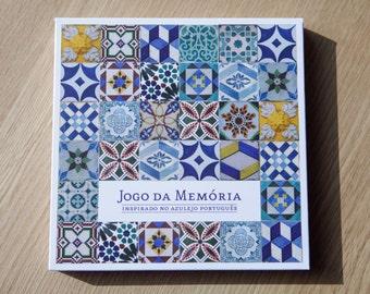 Portuguese Tiles Memory Game