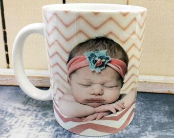 Photo Mugs, Custom Mugs, Personalized Mug, Personalized Coffee Mugs, Picture Mugs, New Mom Gifts, Gifts for Mom, Coffee Mug, Mothers Day