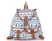 Back to school Navy blue small potato lovely cute school backpack