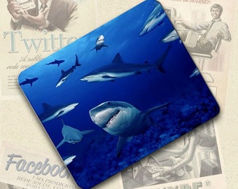 Sharks Mousepad Mouse Pad Great Gift Idea LMP679