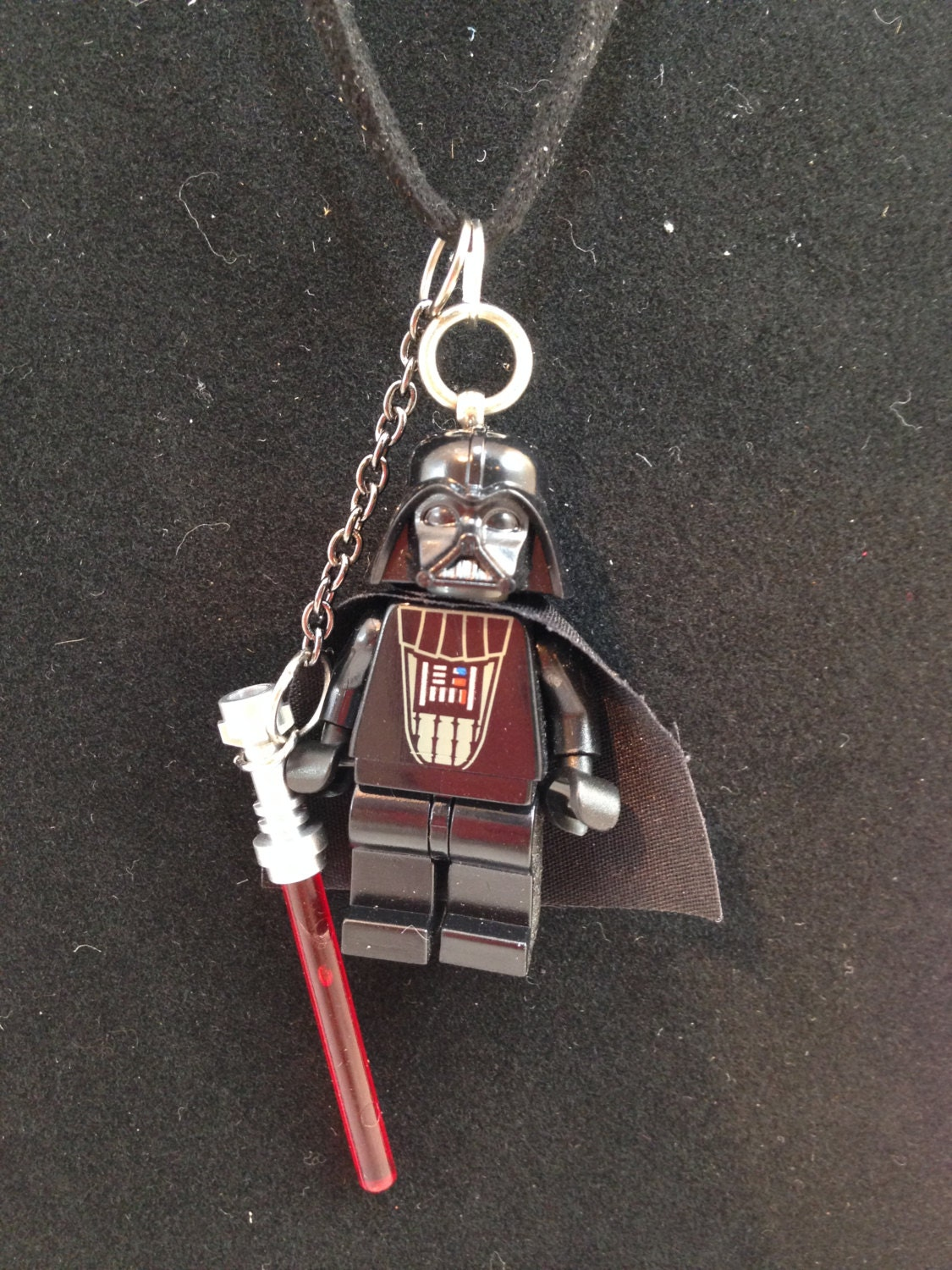 Darth Vader Star Wars Lego Minifigure Necklace
