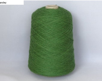 Yarn on the cone - 100% Superfine Alpaca 4 ply - min. 450g cone