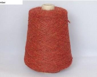 Cone Yarn - 100% Superfine Alpaca 4 ply - min. 450g cone
