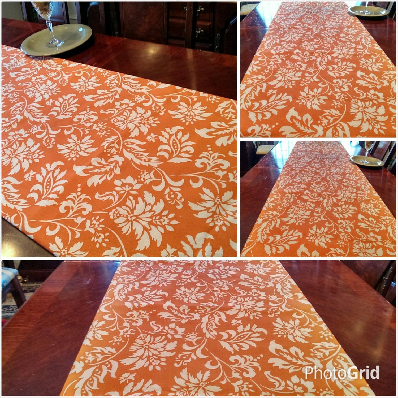 Fall table runner autumn harvest tablelinen bed runner for 102 table runner