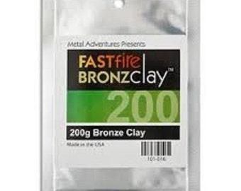 FASTfire BRONZclay 200 grams