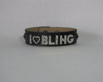 I Love Bling bracelet