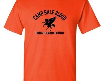 CAMP HALF BLOOD half-blood  t-shirt tee