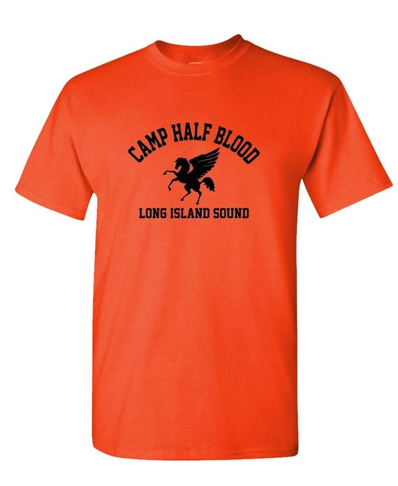 CAMP HALF BLOOD half-blood  t-shirt tee