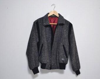 Vintage 80s/90s Womens Herringbone Jacket
