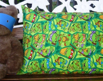 Teenage Mutant Ninja Turtle* Toddler and Standard size Pillowcases  *Fun Gift