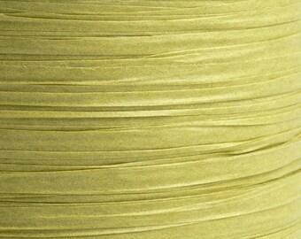 10m x 7mm Olive Paper Tying Raffia Ribbon