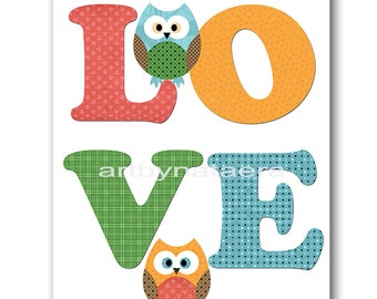 Owl Decor Owl Nursery INSTANT DOWNLOAD Print Baby Nursery Decor Digital Art Baby Boy Nursery Printable Art Digital Download Art 8x10 11X14