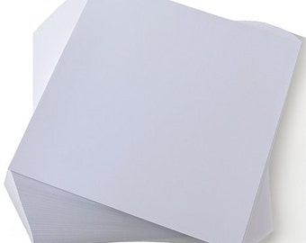 White 12 x 12 Cardstock--50 sheets
