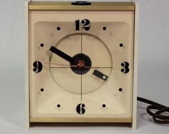 Vintage Retro Stancraft Ceiling Alarm Clock 1970's