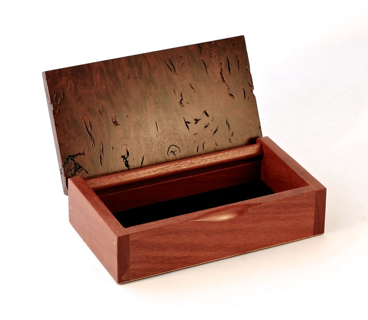 Decorative Wooden Boxes Australia : Wooden watch pen jewellery box australian rare jarrah