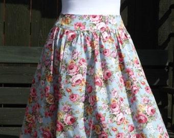 Lovely Multi Floral Skirt - UK 8