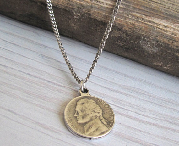 s necklace s coin necklace s