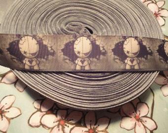 Grosgrain Voodoo Doll ribbon