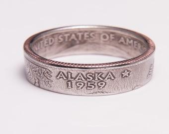 Alaska State Quarter Ring