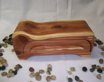 Cedar  Bandsaw Box