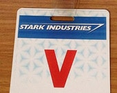 Stark Industries Visitor Badge