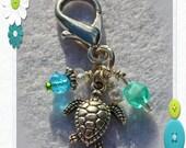 Seaside Sea Turtle Collar Charm
