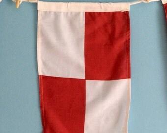 "Nautical Signal Flag - ""U"""