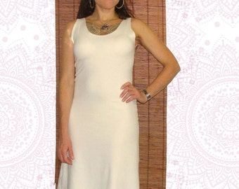 Organic dresses - Handmade from organic cotton and soybean terry cloth jersey Great for layering Custom made just for you