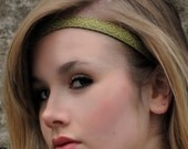 Japanese Ikat pattern hairband by loobyloucrafts