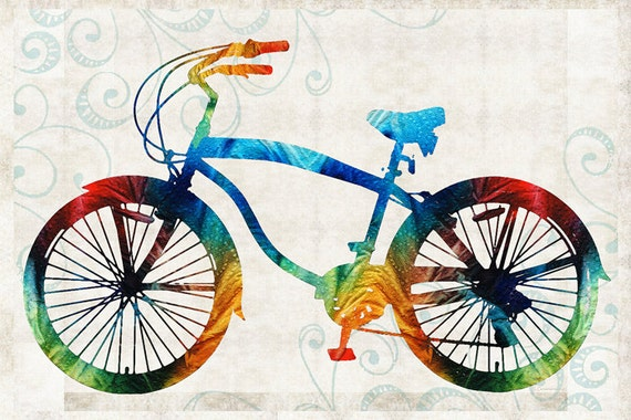 simple bike art 1080p - photo #40
