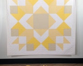 Radiance, a PDF modern quilt pattern, by Heather Jones