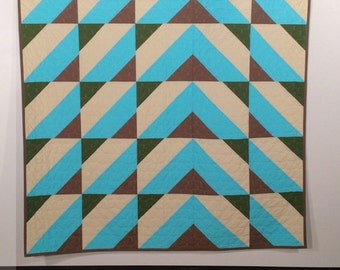 Take Me Higher, a PDF modern quilt pattern, by Heather Jones