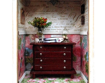 Emma's Box - Miniature room shadowbox