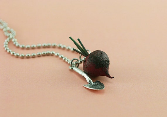 Beetroot Necklace