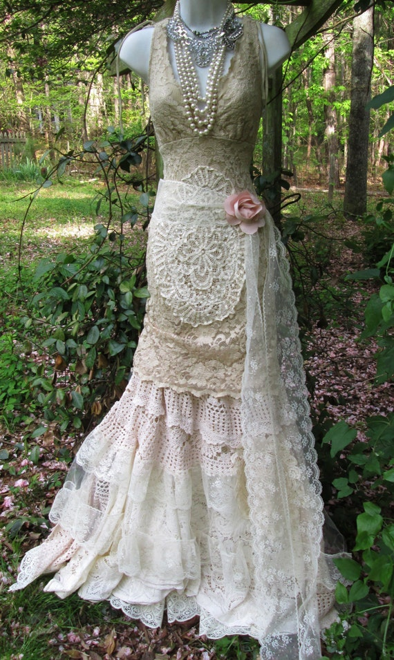 Boho Lace Wedding Dress Etsy : Dresses jackets coats lingerie pants capris shorts skorts skirts