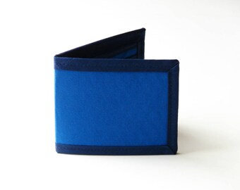 The Blues Billfold Wallet - Vegan Friendly