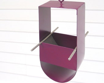 Cheep! Modern Bird Feeder in Aubergine