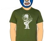 Bob Marley Calavera Men's T-Shirt Small, Medium, Large, XL, XXL in 5 Colors
