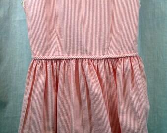 Liliputian Bazaar by Best & Co. pink striped summer dress