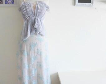 PASTELLE - pleats & lace
