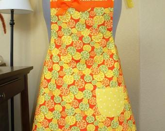 Fresh Citrus apron