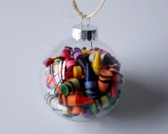 Crayon Ornament