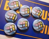 VAPORWAVE // Windows 95 Pin Net Art Internet Button Cyberpunk Aesthetic Badge