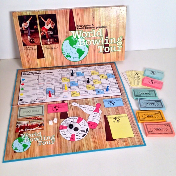 World Bowling Tour Board Game