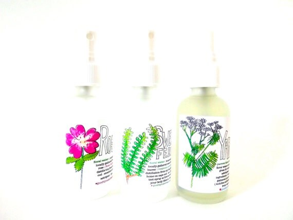3 floral toners